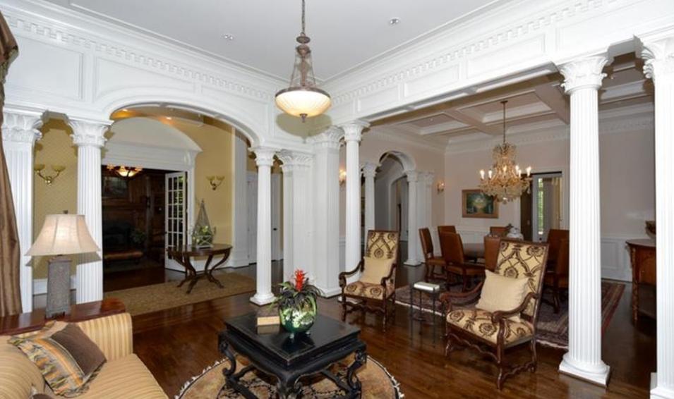 Amazing 10,000 Square Foot Riverfront Mansion In Alpharetta, GA