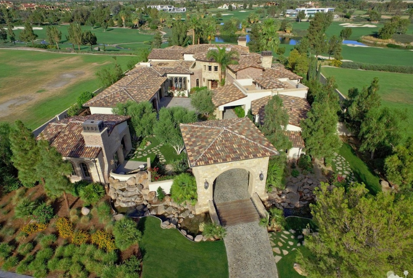 8 Million Country Club Mansion In La Quinta Ca Homes