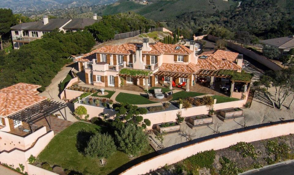 $3.4 Million Mediterranean Home In Monterey, CA