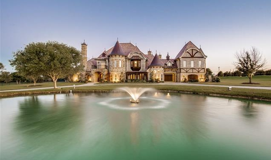 French Tudor Mansion In Prosper, TX Re-Listed