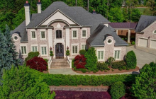 $2.9 Million Country Club Mansion In Duluth, GA