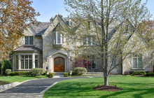 $3.875 Million Stone Home In Winnetka, IL