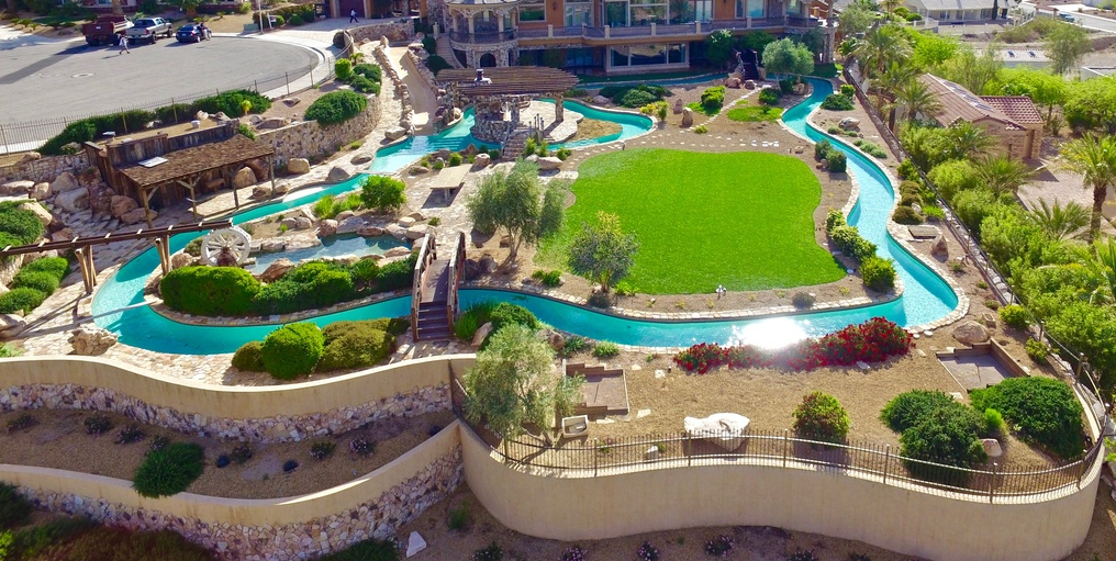 8 Million Mansion In Boulder City Nv With Its Own Lazy River Homes Of The Rich