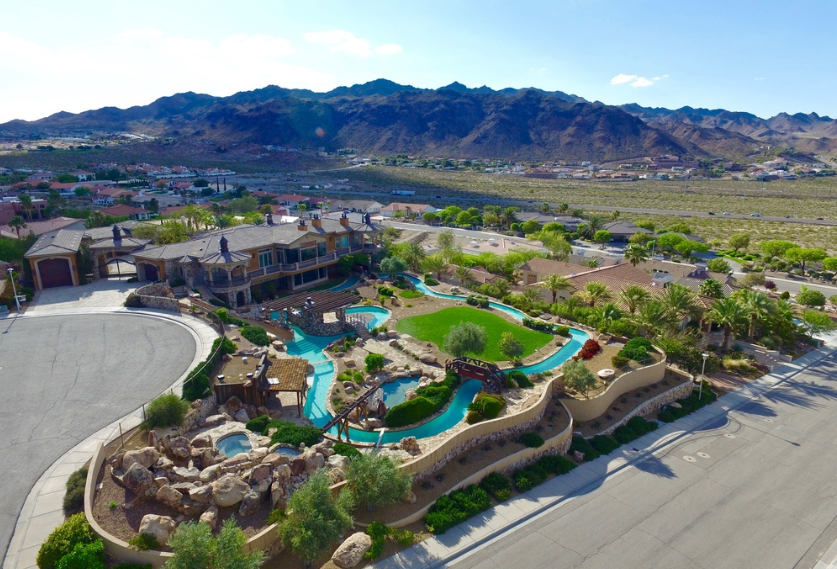 8 Million Mansion In Boulder City Nv With Its Own Lazy