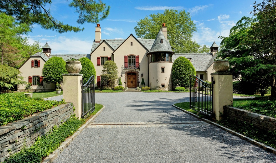 $5.25 Million French Normandy Inspired Waterfront Mansion In Lloyd Harbor, NY