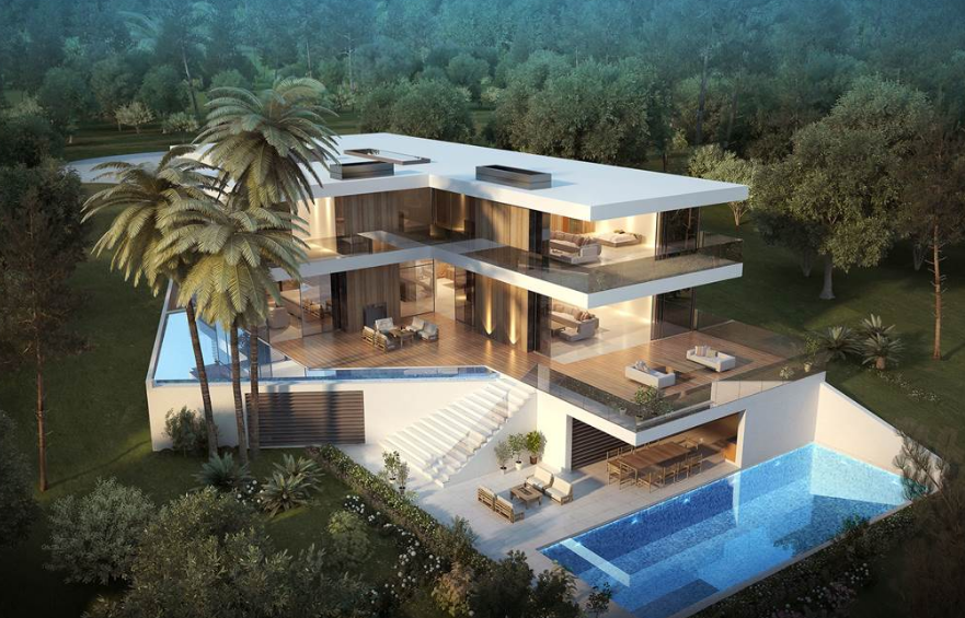 $36.5 Million Proposed Contemporary Oceanfront Mansion In Corona Del Mar, CA