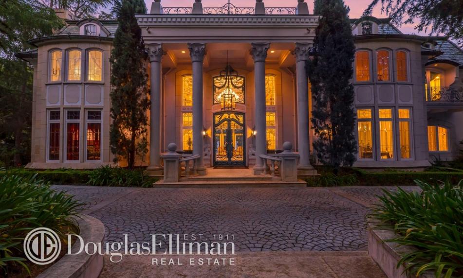 $10.495 Million French Inspired Mansion In La Canada Flintridge, CA