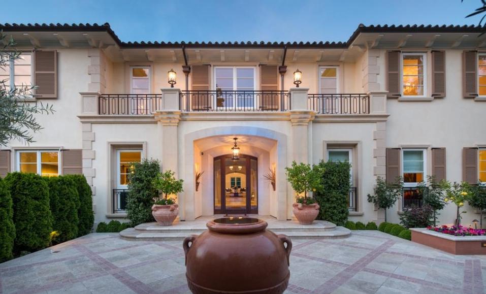 $18.8 Million Mediterranean Mansion In Atherton, CA