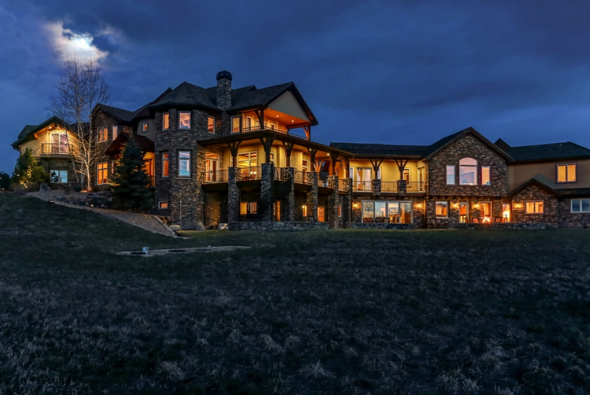 11,000 Square Foot Mountaintop Mansion In Littleton, CO