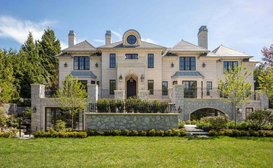 38 9 million newly built mansion in vancouver canada for Vancouver bc houses