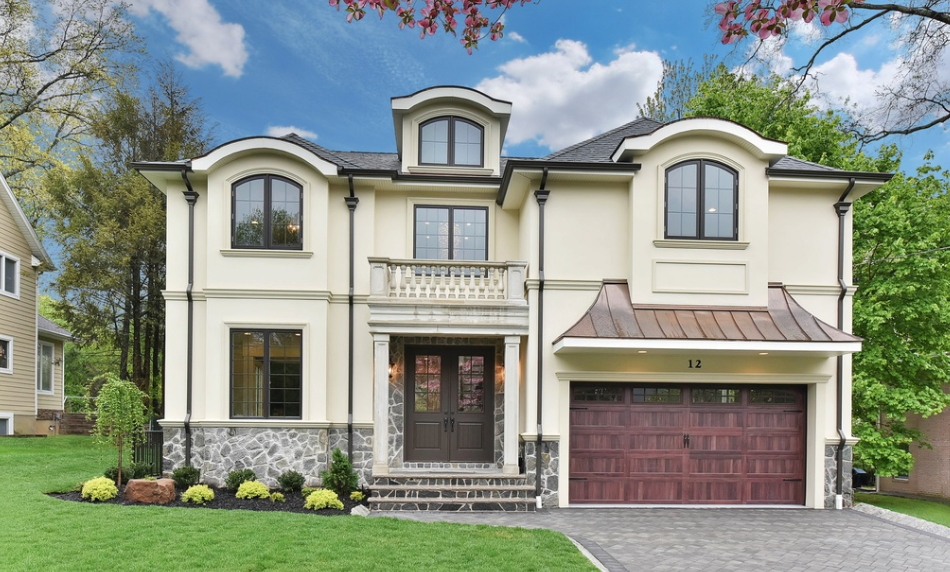 $2.1 Million Newly Built French Inspired Home In Tenafly, NJ