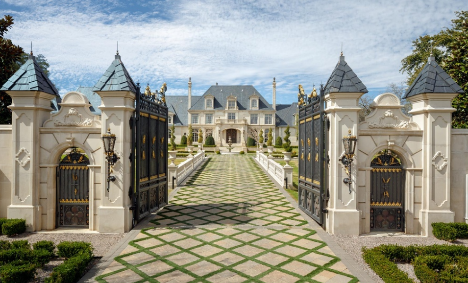 Incredible 32 Million French Inspired Estate In Dallas