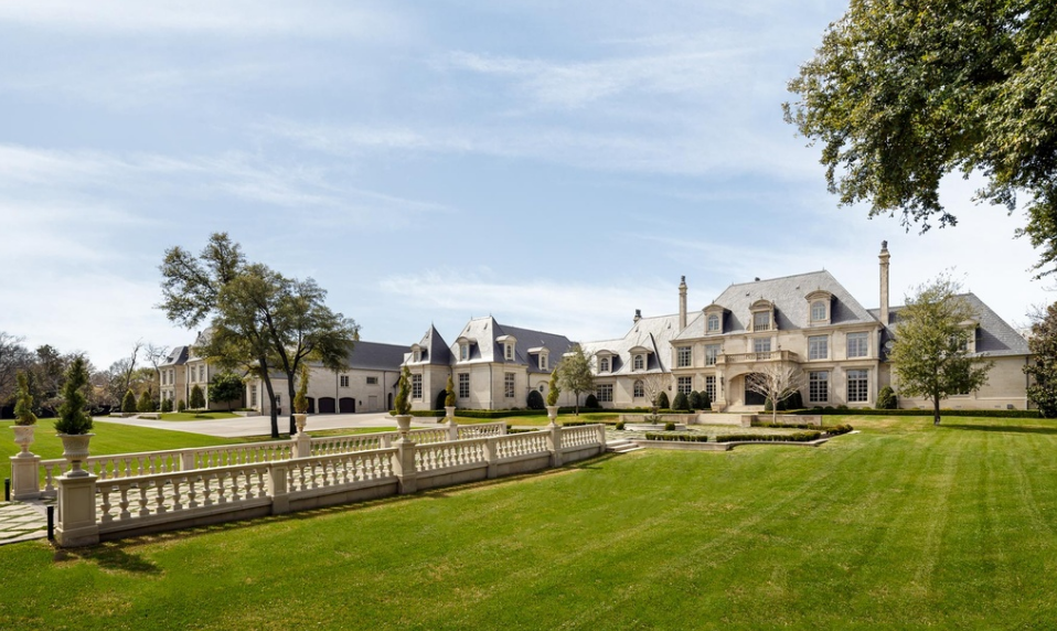 Incredible 32 million french inspired estate in dallas for The house dallas for sale