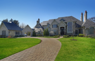 15,000 Square Foot Brick Mansion In Burr Ridge, IL