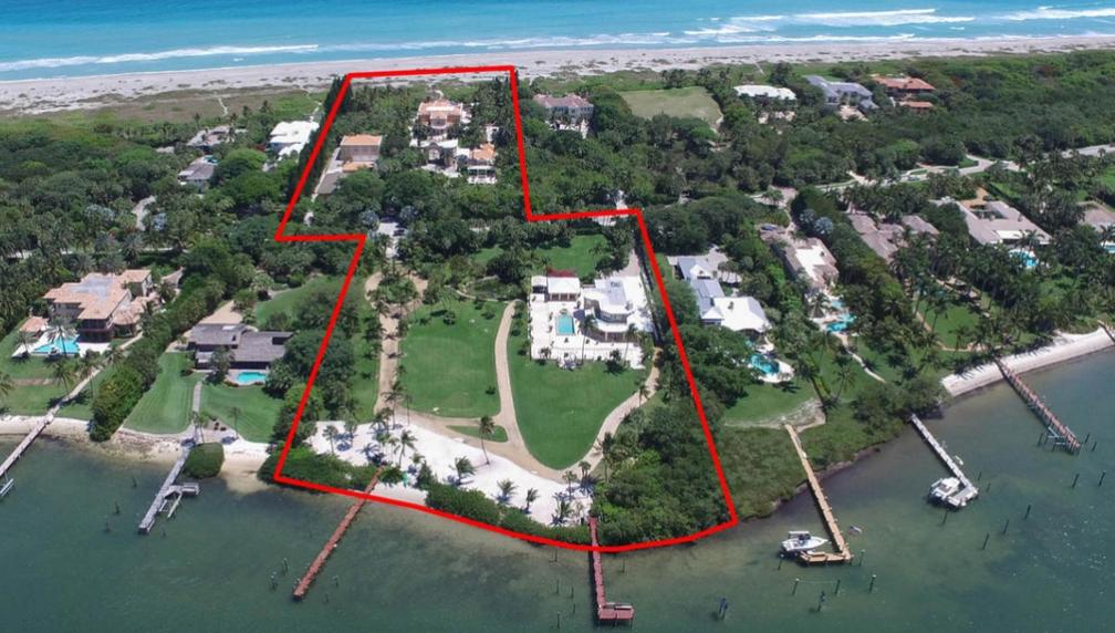 $65 Million Waterfront Estate In Hobe Sound, FL