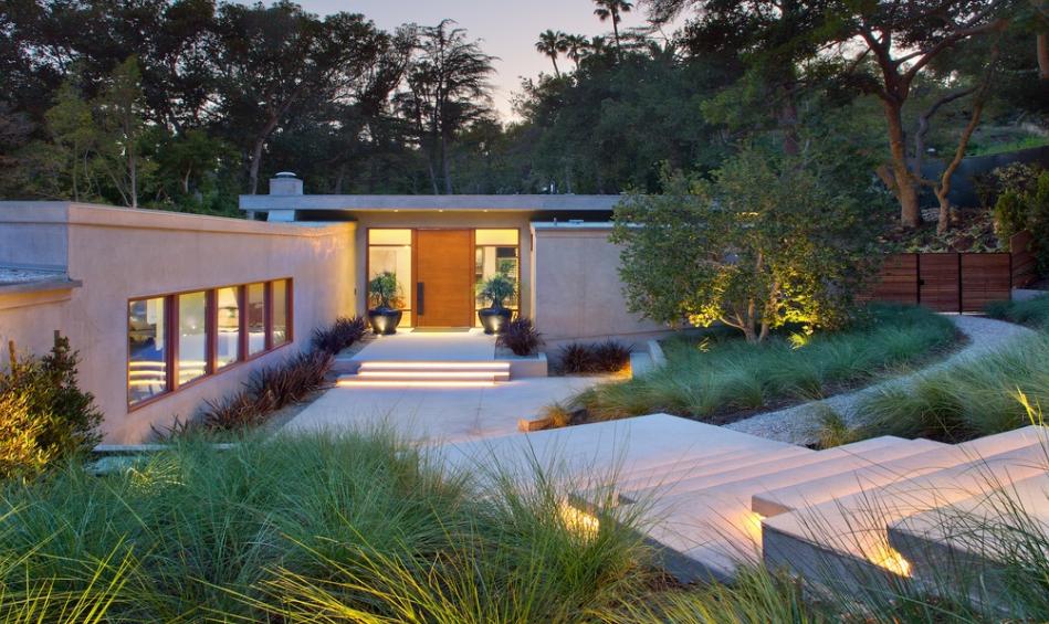 16 9 Million Mid Century Modern Mansion In Beverly Hills