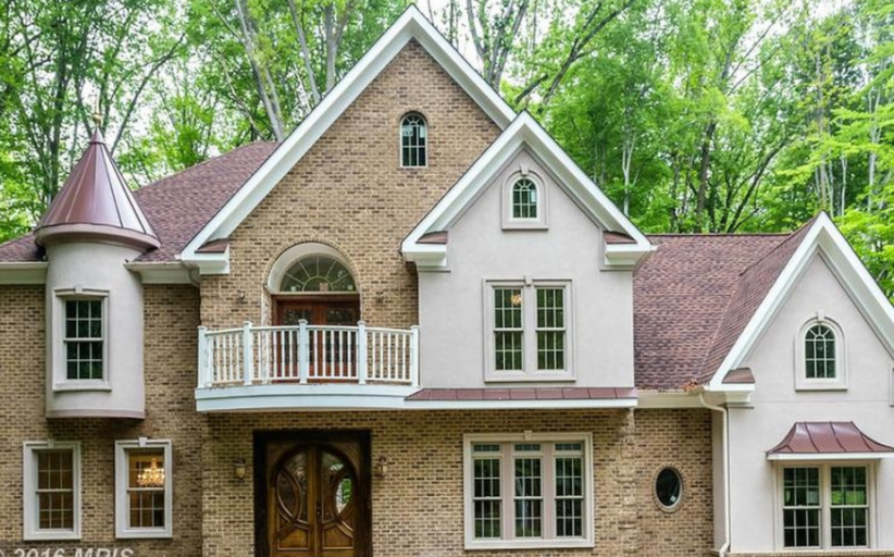 $1.475 Million Newly Built Brick & Stucco Home In Annandale, VA