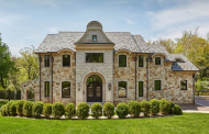 $3.495 Million Newly Built Stone Home In Essex Fells, NJ