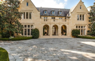 $21 Million English Tudor Revival Stone Mansion In Dallas, TX