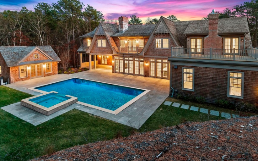 $3.9 Million Newly Built Shingle Mansion In Water Mill, NY