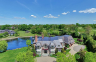 17,000 Square Foot Brick Mansion In Cresskill, NJ