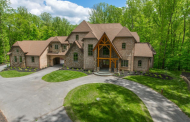 10,000 Square Foot Brick & Stone Mansion In Clarksville, MD