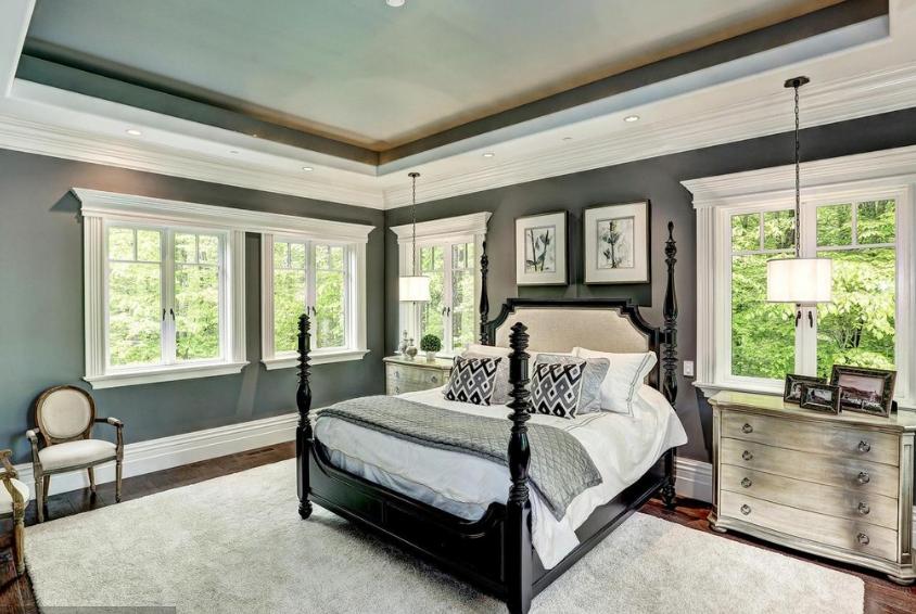 10 000 square foot brick stone mansion in clarksville for Granite 25 per square foot