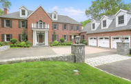 $3.85 Million Brick Georgian Home In Greenwich, CT