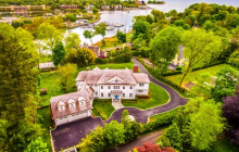 $9.5 Million Newly Built Colonial Home In Greenwich, CT