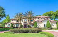 $4.8 Million Mediterranean Lakefront Home In Winter Park, FL