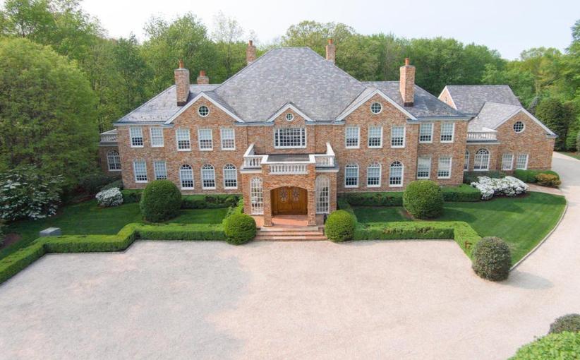$11.9 Million Brick Mansion In Greenwich, CT