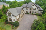 11,000 Square Foot Riverfront Mansion In Alpharetta, GA