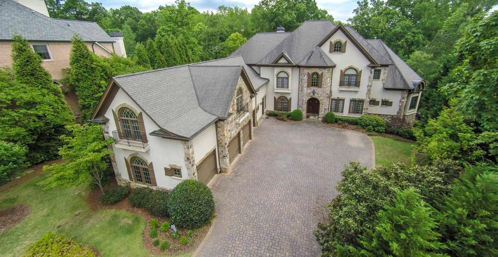 11,000 Square Foot Riverfront Mansion In Alpharetta, GA