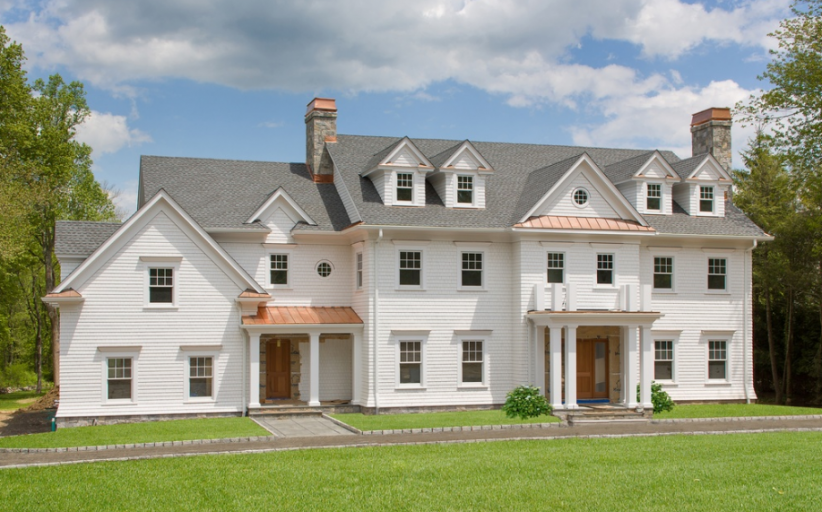 10,000 Square Foot Newly Built Colonial Mansion In Armonk, NY