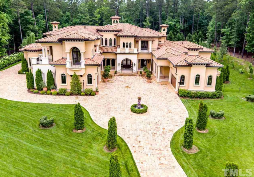 11 000 Square Foot Mediterranean Mansion In Durham Nc