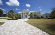 $8.9 Million Lakefront Mansion In Boca Raton, FL