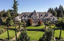 21,000 Square Foot Stone Mansion In Salem, OR