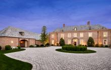 $5.85 Million Georgian Brick Mansion In Princeton, NJ