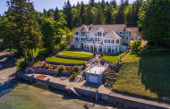 13,000 Square Foot Waterfront Mansion In Belfair, WA
