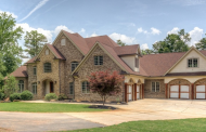 14,000 Square Foot Lakefront Brick Mansion In Fayetteville, GA