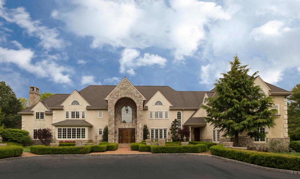 $3.19 Million Stone & Stucco Mansion In Gwynedd Valley, PA