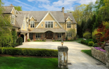 14,000 Square Foot Shingle & Stone Mansion In Greenwich, CT