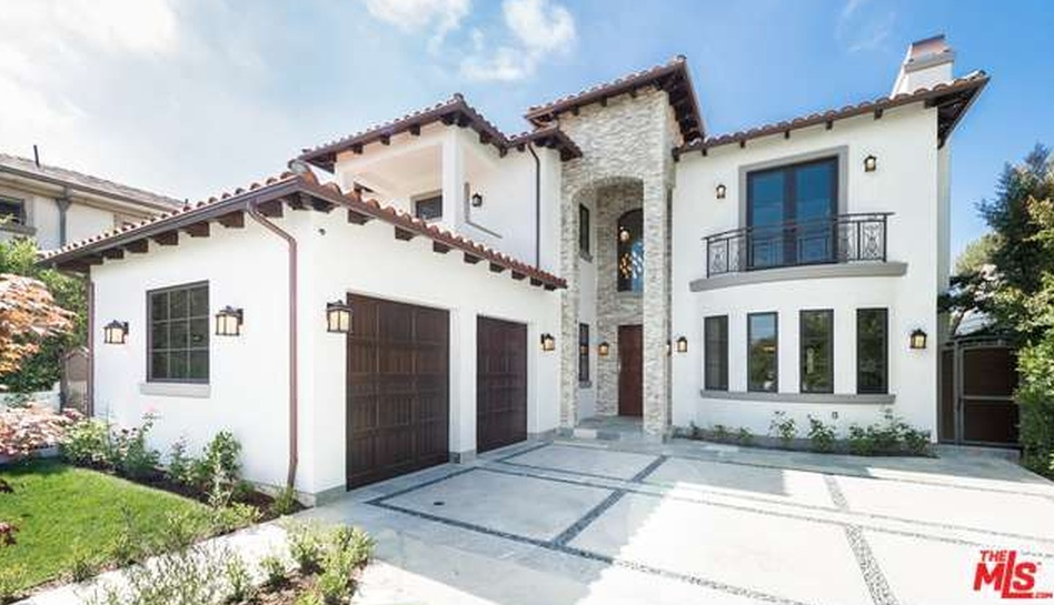 $4.995 Million Newly Built Spanish Contemporary Home In Los Angeles, CA