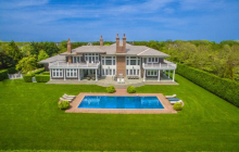 $18.5 Million Shingle Mansion In Sagaponack, NY