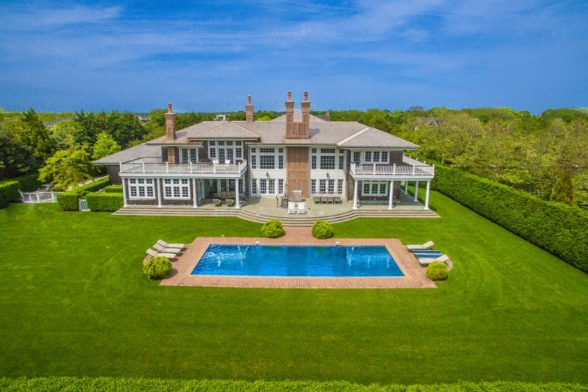 $18.5 Million Shingle Mansion In Sagaponack, NY