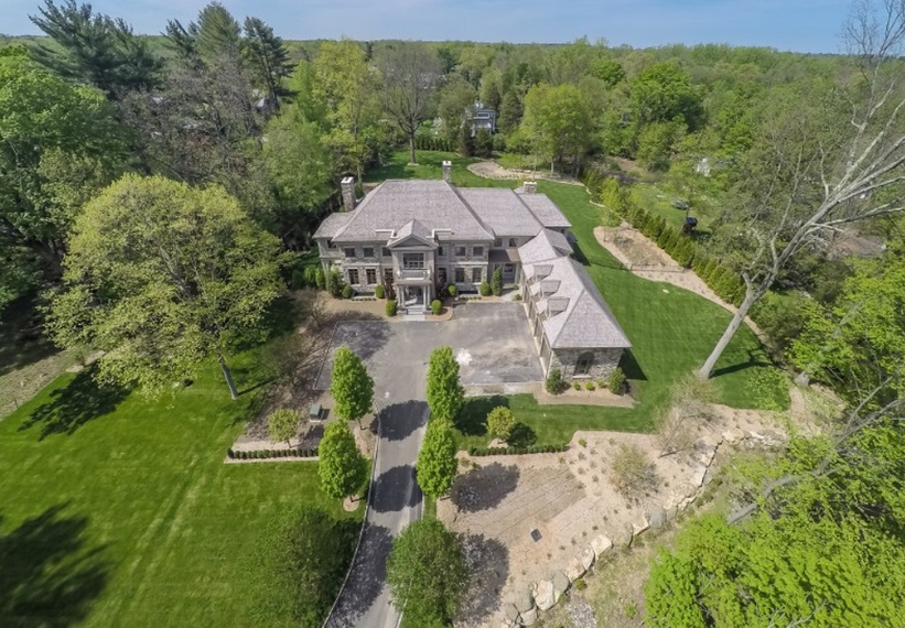 14,000 Square Foot Newly Built Mansion In Greenwich, CT