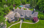 $4.4 Million English Inspired Stone Home In Essex Fells, NJ
