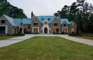 24,000 Square Foot Newly Built Brick & Stone Mansion In Atlanta, GA