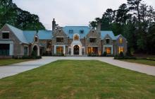 24,000 Square Foot Newly Built Brick & Stone Mansion In Atlanta, GA