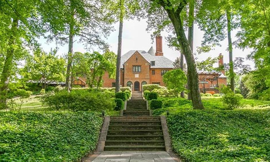 5 975 Million Historic Brick Mansion In Richmond Va